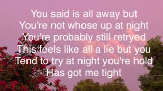 Peter Manos • In My Head (Lyrics)