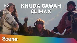 Khuda Gawah Climax Scene | Amitabh Bachchan | Sridevi | Superhit Bollywood Movie