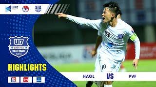 Highlights | U17 HAGL - U17 PVF | Hữu Đăng tỏa sáng, U17 HAGL giành 3 điểm ấn tượng | HAGL Media