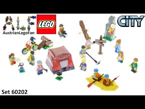 Vidéo LEGO City 60202 : Ensemble de figurines - Les aventures en plein air