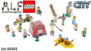 Lego City 60202 People Pack - Outdoor Adventures - Lego Speed Build Review