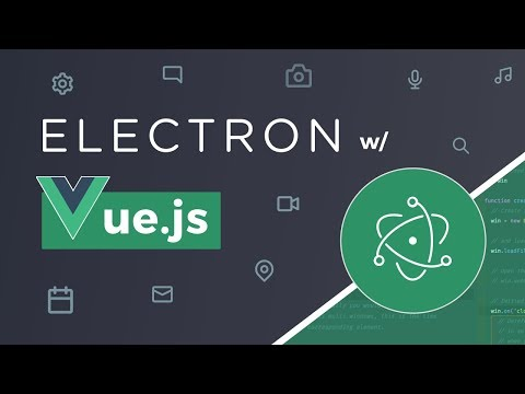 Electron with Vue.js