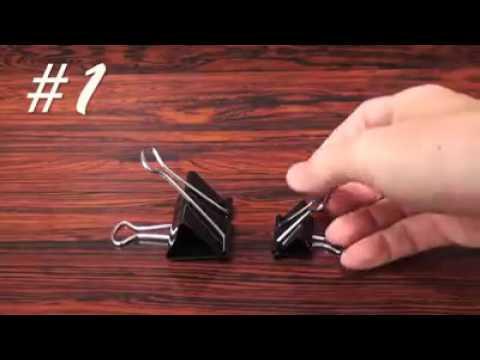 Cosas que hacer con clips