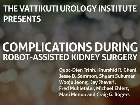Complications During Robot Assisted Kidney Surgery