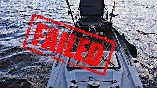 КАЯК который НЕ СМОГ. Педальный Каяк Point 65 KingFisher.Рыбалка на Финском заливе.