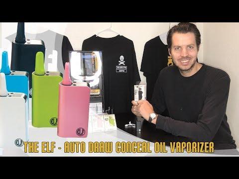 Elf Kit Vaporizer Best Unit for prefilled 510 Cartridges by HoneyStick how to, oil Inhale & Vape