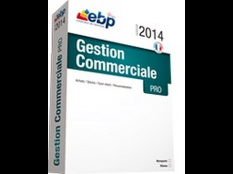 comment installer ebp gestion commerciale