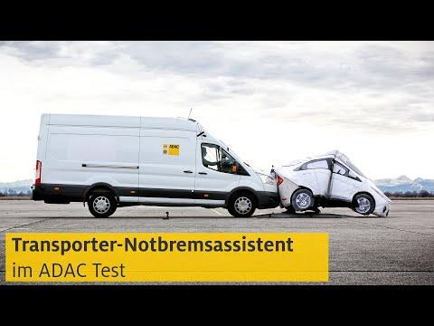 ADAC: Autonome Notbremse (AEB) bei Transportern