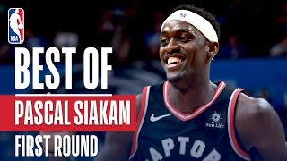 Pascal Siakam's Best Plays From The First Round!