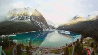 Fairmont Chateau Lake Louise - Winter to Summer Timelapse