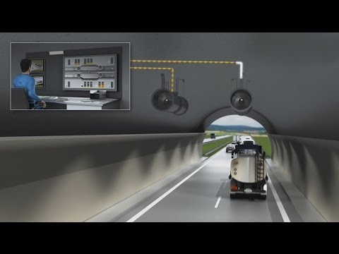 Tunnel ventilator control from SICK | SICK AG