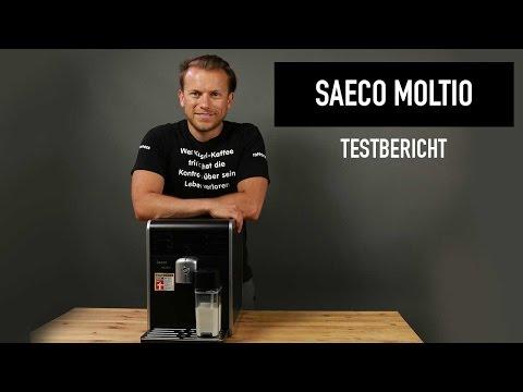 Saeco Moltio Kaffeevollautomat Testbericht - kann der Gewinner von Stiftung Warentest überzeugen?