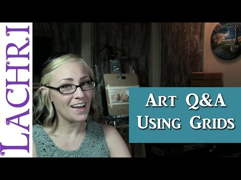 Art Q&A alternatives to using grids to draw w/ Lachri