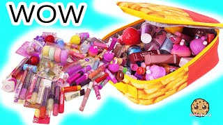My Scented Lip Gloss Collection ! Lip Smackers Balm Cookie Swirl C Video