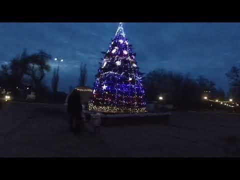Ярмарка / новогоднее украшение города Брянка 🎄🎄🎄