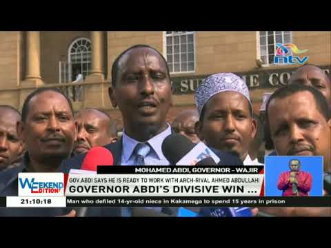 Governor Abdi says he is ready to work with arch-rival Ahmed Abdullahi