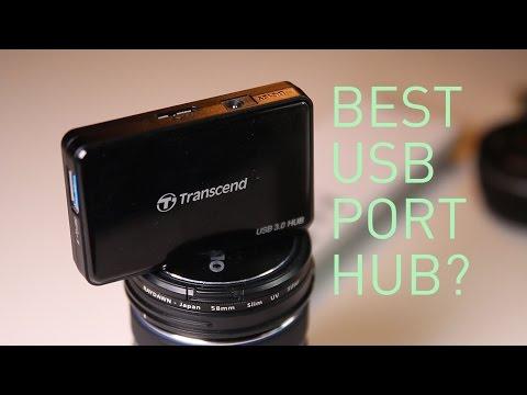 BEST USB PORT HUB.Transcend USB 3.0 PORT HUB review