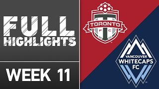 HIGHLIGHTS: Toronto FC vs Vancouver Whitecaps FC | May 14, 2016 by Major League Soccer