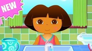 Dora The Explorer - Baby Dora Hygiene Care - Dora the Explorer Full Episodes
