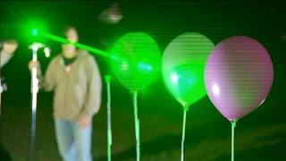 ЕХперименты. Лазеры
