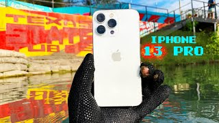 I Found an iPhone 13 Pro Underwater in the River (Will It Survive?)