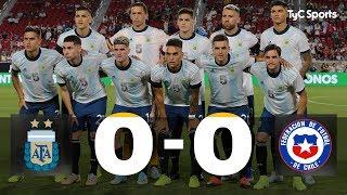 La #SelecciónArgentina empató sin goles ante Chile, en un amistoso en Los Ángeles. El martes vuelve a jugar, ante México ¡Estas fueron las mejores jugadas del partido!