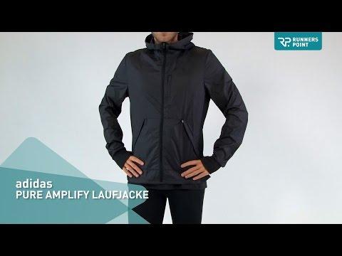 adidas PURE AMPLIFY LAUFJACKE