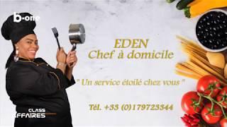 INVITE SURPRISE: EDEN CHEF A DOMICILE