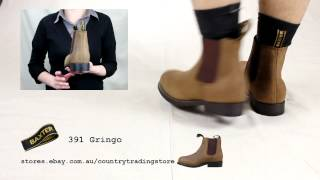 preview picture of video 'Baxter Gringo Mens Riding Boot'