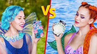 10 DIY Mermaid Vs Fairy Lifestyle Ideas