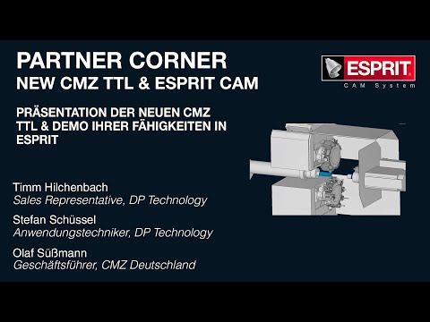 Partner Corner: ESPRIT CAM und CMZ