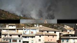 Incendi Bocairent - Alfafara  -Ontinyent - Agullent 2010