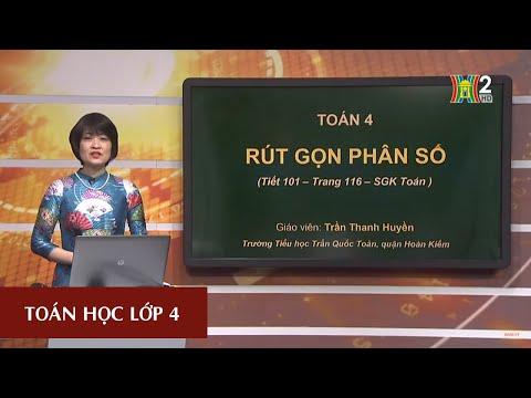 MÔN TOÁN - LỚP 4 | Rút gọn phân số | 19H45 NGÀY 20.03.2020 (Dạy học trên truyền hình Hà Nội)