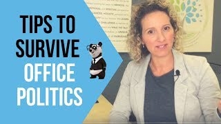 Office Politics - How to Deal with Workplace Politics