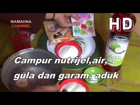 Video Resep Membuat Es Kelapa Muda Mayor dari Nutrijell | Recipes to Make Coconut Ice Mayor of Nutrijell