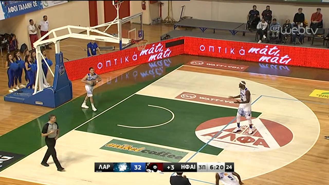 Basket League 2019-2020: ΛΑΡΙΣΑ – ΗΦΑΙΣΤΟΣ ΛΗΜΝΟΥ | HIGHLIGHTS | 23/11/2019 | ΕΡΤ