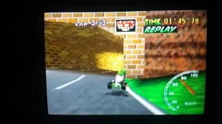 """Luigi Raceway Flap 37""""75 (NTSC 31""""40)"""