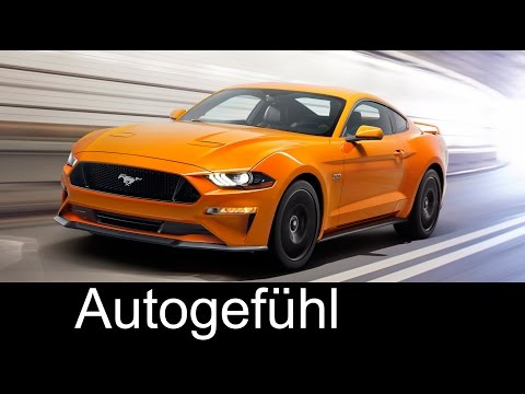 Ford Mustang Facelift Exterior Interior Preview - Autogefühl