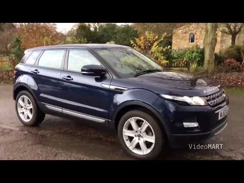 2012 (62) LAND ROVER RANGE ROVER EVOQUE 2.2 SD4 PURE TECH 5DR Manual