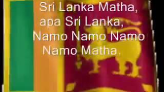 National Anthem of Sri Lanka   Sri Lanka Matha