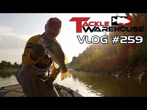 Fishing the Strike King KVD Splash & Splash Jr. for Bass with Mark Menendez – TW VLOG #259