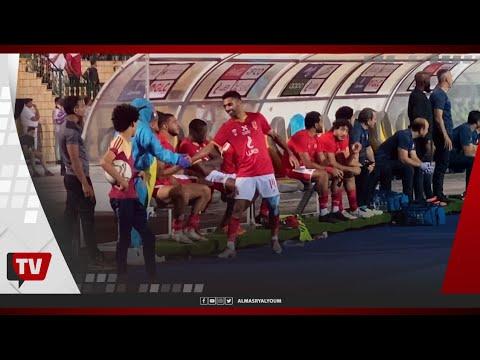 تحية خاصة من جماهير الأهلي لحسين الشحات وحمدي فتحي عقب استبدالهم بمباراة المقاصة