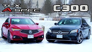 2019 Mercedes-Benz C-Class vs Acura TLX A-Spec // An Executive Decision.