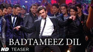 Ranbir Kapoor - Badtameez Dil - Song Coming Soon - Yeh Jawaani Hai Deewani