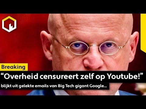 """""""Overheid censureert zelf op Youtube!"""" blijkt uit gelekte emails van Big Tech gigant Google..."""