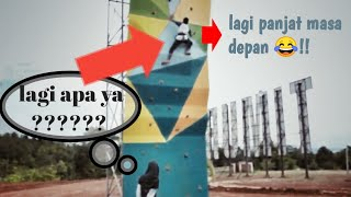 preview picture of video 'VLOG 1 LANDMARK LUTIM (belajar manjat tebing)'