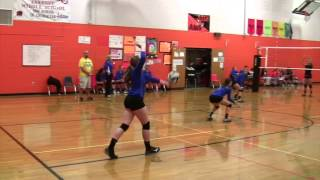 Springboro 8th Grade Volleyball vs  Beavercreek Black 100214