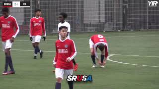 SRUSA Men's Soccer XI (Clients And Trialists) Vs Rising Ballers College   Highlights