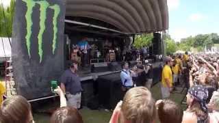 Beartooth - Set Me On Fire - Warped Tour 2014 - Nashville, TN