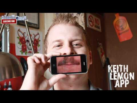 Video of Keith Lemon's Mouthboard